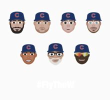 Cubs Squad #FlyTheW Kids Tee