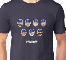 Cubs Squad #FlyTheW Unisex T-Shirt