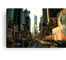 Sunny Times Square Canvas Print