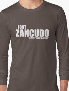 "Fort Zancudo ""Divert Immediately!"" Long Sleeve T-Shirt"