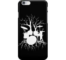 """Live the Beat to the Tempo of Creation"" ~ drum art - iPhone Case iPhone Case/Skin"