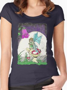 Resting Fairy Women's Fitted Scoop T-Shirt