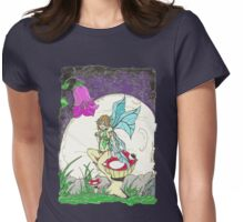 Resting Fairy Womens Fitted T-Shirt