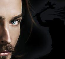 Ichabod and The headless horseman Sticker
