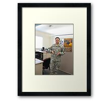 Col. Mike K. Johnson--It has been an honor Framed Print