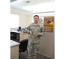 Col. Mike K. Johnson--It has been an honor Photographic Print