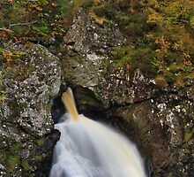 Falls of Foyers by Chuck Zacharias