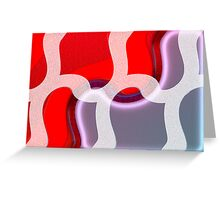 Abstract #62a Greeting Card