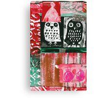 Owls 4 Canvas Print