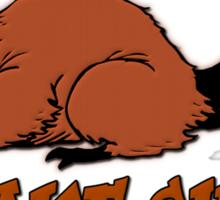 Beavers Make Shit Out of Wood Sticker