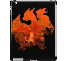 Charmander - Charmeleon - Charizard - Polygon iPad Case/Skin