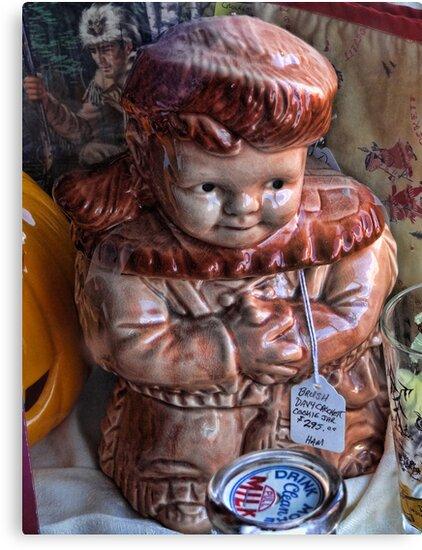 Davey Crockett cookie jar (for cheryl1 & Virginian Photos) by vigor