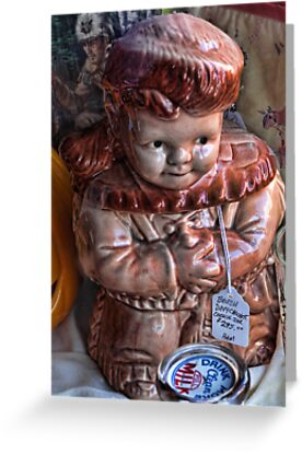 Davey Crockett cookie jar (for cheryl1 & Virginian Photos) by vigor