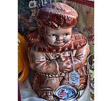 Davey Crockett cookie jar (for cheryl1 & Virginian Photos) Photographic Print