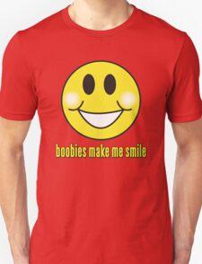 Boobies Make Me Smile Unisex T-Shirt