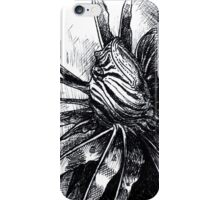 Lion Fish Drawing iPhone Case/Skin