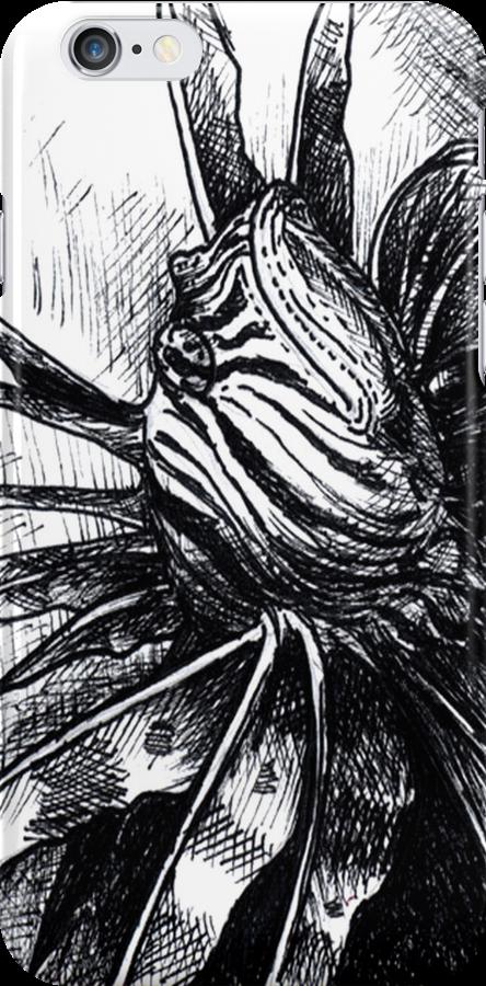 Lion Fish Drawing by dvampyrelestat