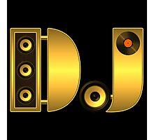 DJ gold Photographic Print