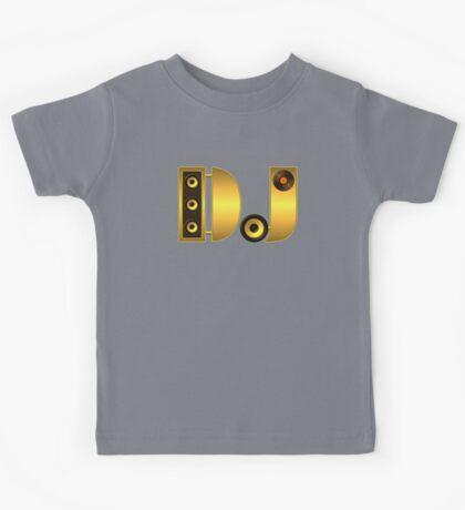 DJ gold Kids Tee