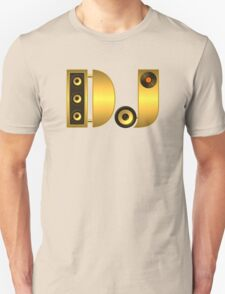 DJ gold Unisex T-Shirt