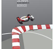 Ayrton Senna Monaco MP4/7A by herholdt