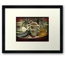 After the Party Framed Print