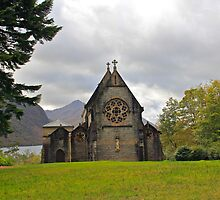 St Mary and St Finnan Church by Chuck Zacharias