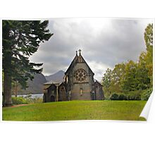 St Mary and St Finnan Church Poster