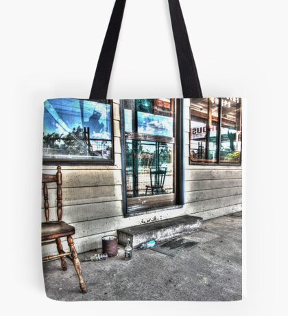 Two chairs. Tote Bag