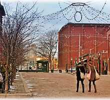 Christmas Shopping in Toronto's Distillery District by Gerda Grice