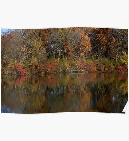 Autumn Bunches Poster