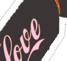 Love Bomb Sticker