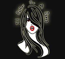 OmenCon 2012 - I'd Rather Do A Daeva [light] (artist: Nikki Gibson) Unisex T-Shirt