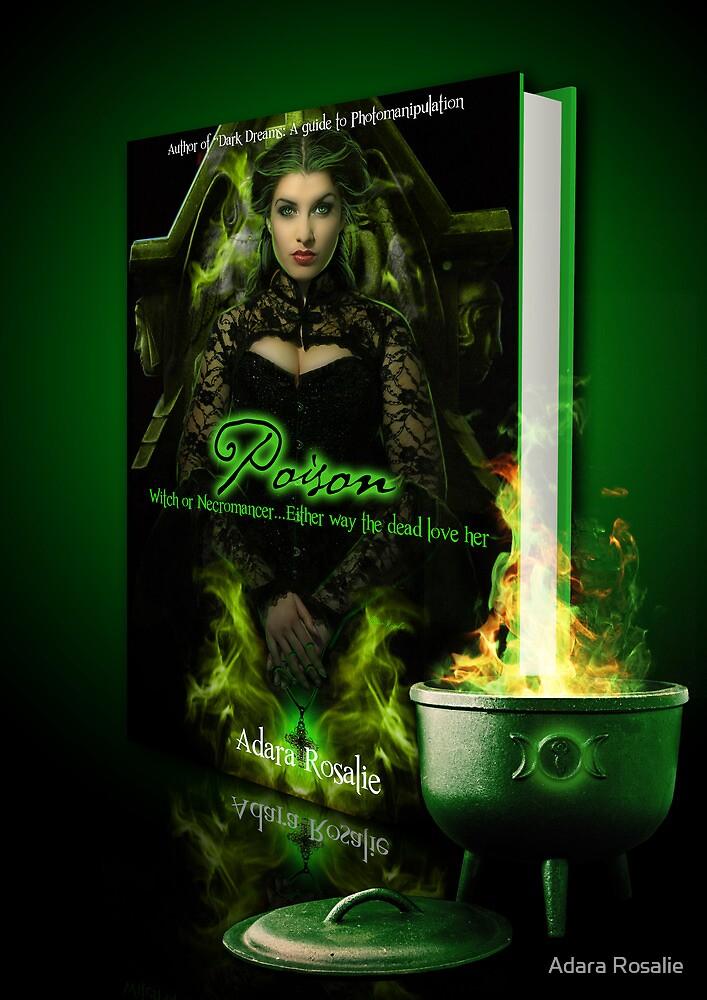 Poison Book cover Design by Adara Rosalie