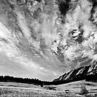 Sky Dreams At the Flatirons by Gregory J Summers
