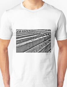 Road barriers. Unisex T-Shirt