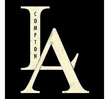 Compton los angeles rap Photographic Print