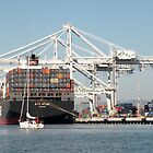 Shipping from the Port of Oakland by Martha Sherman