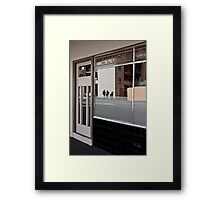 G Luck Framed Print