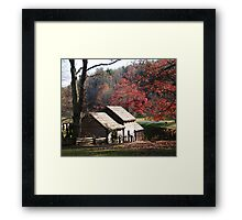 Mabry Mill in the Fall~ Framed Print