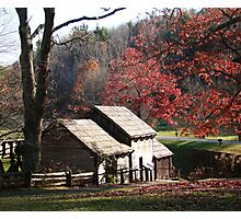 Mabry Mill in the Fall~ Photographic Print
