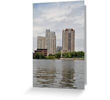 Boston area Greeting Card