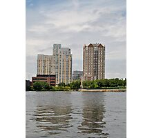 Boston area Photographic Print