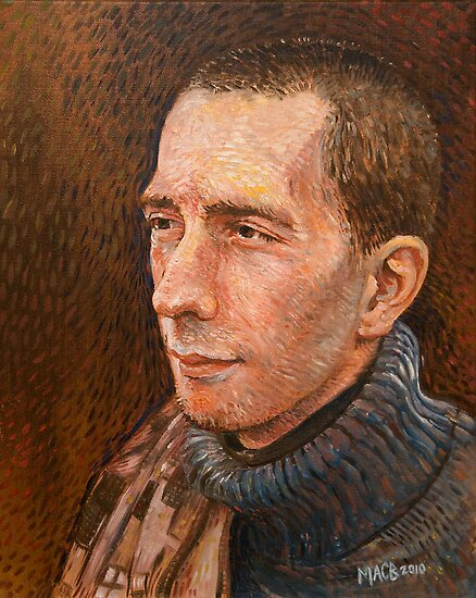 Portrait Art: David Emirzian by Michael Brennan