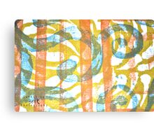 Printmaking Piece 1 Canvas Print