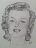 Pretty Marilyn in Pencil by jamie joy