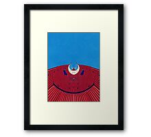 the red dress - ArchiFou 71 Framed Print