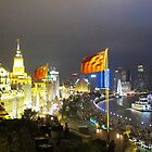 The Bund at Night © by Ethna Gillespie