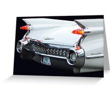 Cadillac Style Greeting Card