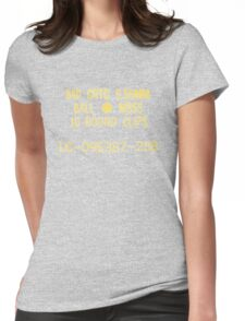5.56x45mm M855 ammo can Womens Fitted T-Shirt